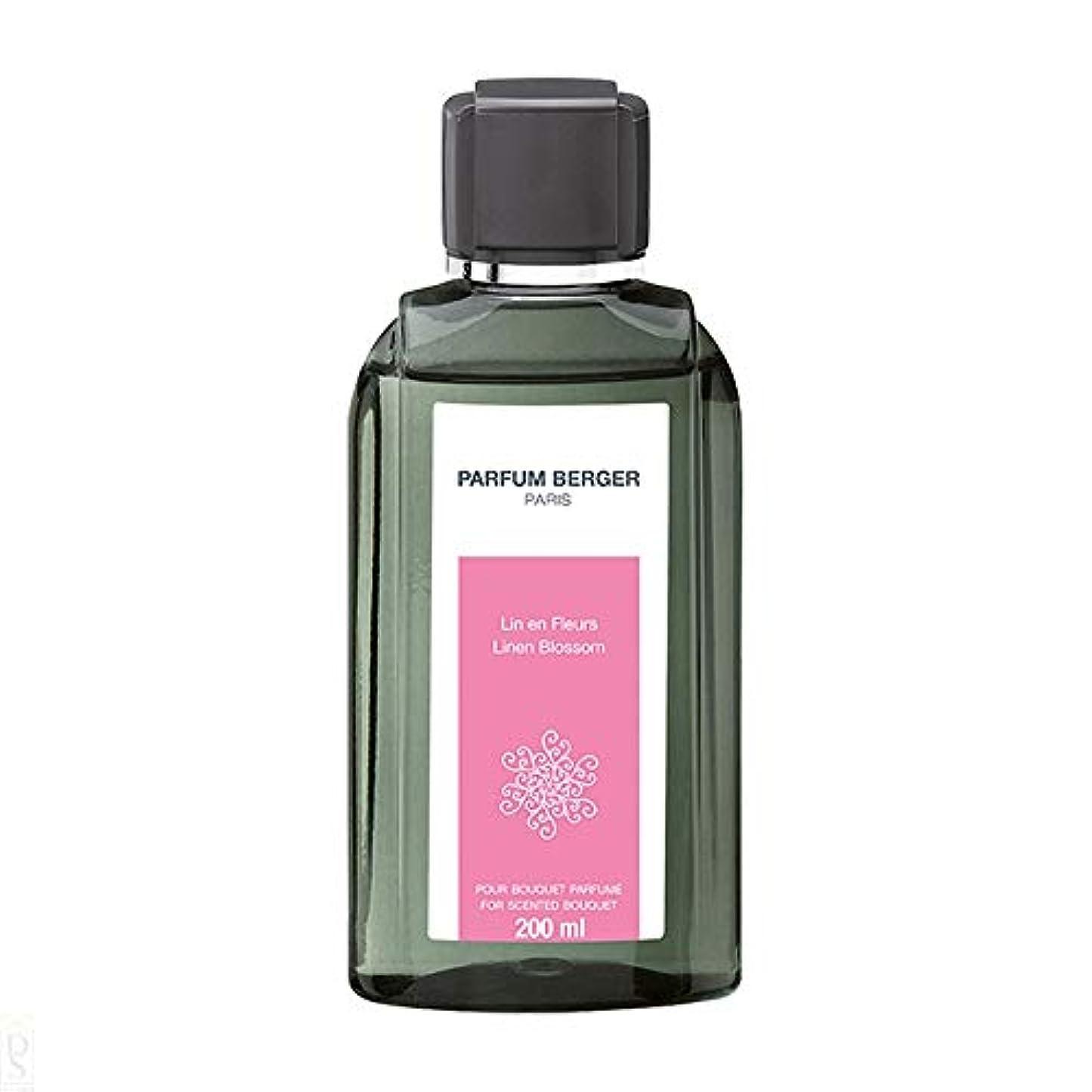 楽観才能関与するランプベルジェ Bouquet Refill - Linen Blossom 200ml並行輸入品