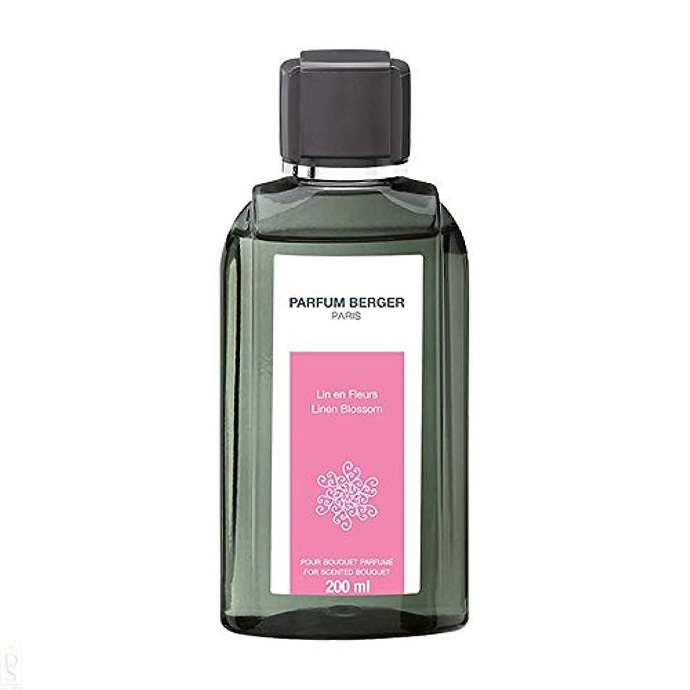 今まで尊敬ウッズランプベルジェ Bouquet Refill - Linen Blossom 200ml並行輸入品