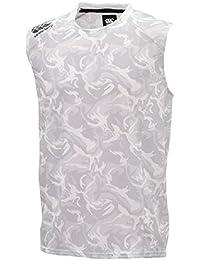 ノースリーブシャツ Tシャツ メンズ カンタベリー canterbury RUGBY+ 限定モデル パフォーマンスシャツ ラグビー ウェア 男性用 トレーニングウェア スリーブレス 袖なし スポーツウェア カモ柄 /RP38088...