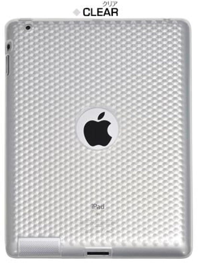 そんなに宝石ストラトフォードオンエイボンPLATA ( プラタ )【※ アウトレット 商品 ※】  新型iPad アイパッド iPad 2 用 モザイク デザイン ソフト 【 クリア 透明 】 IPDN-11CL