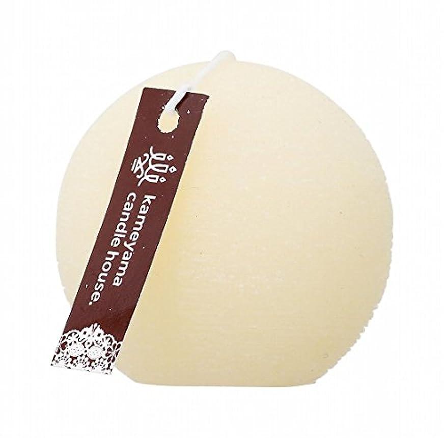円形同志飲み込むヤンキーキャンドル(YANKEE CANDLE) ブラッシュボール60 「 アイボリー 」