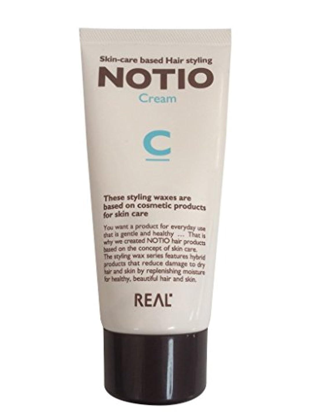 競争力のある孤独な目を覚ますリアル化学 ノティオ(NOTIO) クリーム 90g