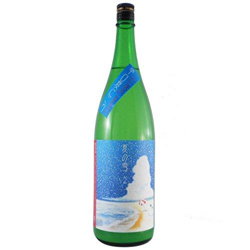大山、夏の雪( Summer Snow ) 特別純米にごり 1800ml/辛口
