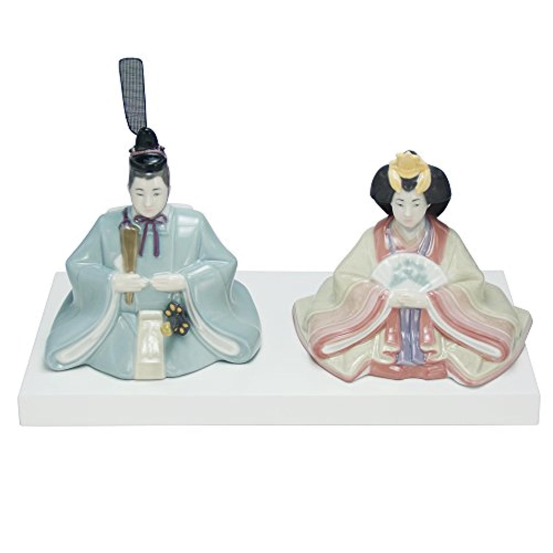 リヤドロ ナオ おひなさま 陶器 雛人形 ひな人形 つるし飾り特典付オリジナル雛人形 雛 ミニ 雛飾り 初節句 雛まつり