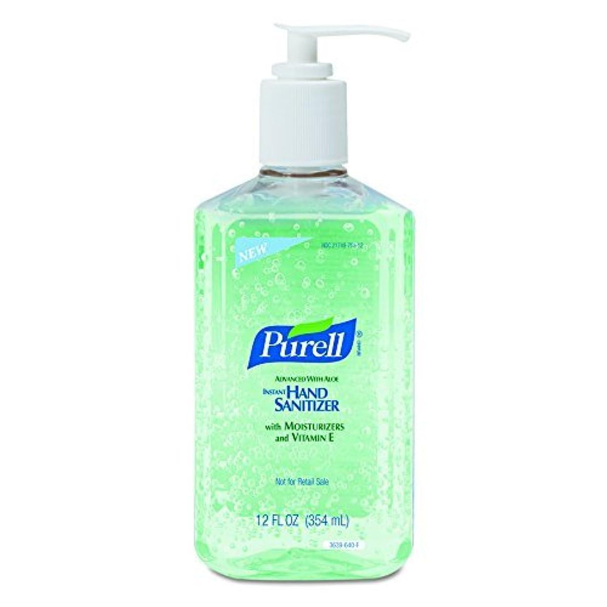 波紋戦う高尚なPURELL Advanced Hand Sanitizer Bottle - Hand Sanitizer Gel with Aloe and Moisturizers 12 fl oz Bottle (Case of...