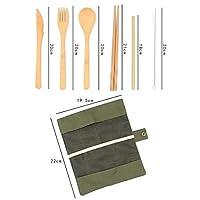 木製 カトラリー セット 箸 スプーン フォーク お弁当 カレースプーン 箸袋を付け 6点セット 木製箸セット お弁当 カトラリーセット木製 箸
