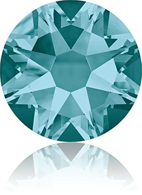 薄める真珠のような少ないネイルアートパーツ SS30 ブルージルコン 288P