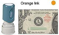 WGラウンドWildジョージ・+ URLコレクションスタンプ Xstamper Stamp オレンジ