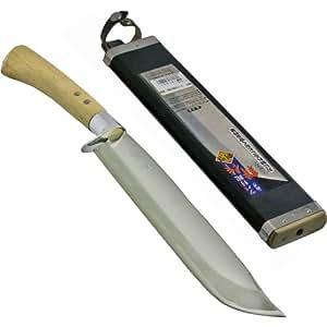 耕作 ツバ付両刃鉈 剣型 270mm