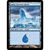 Snow-Covered Island Playset of 4 (Magic the Gathering : Coldsnap #152 Basic Land) by Magic: the Gathering [並行輸入品]