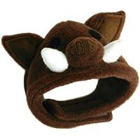 犬猫用コスプレ 猪(いのしし)のかぶりもの(帽子) (S:22~28cm)