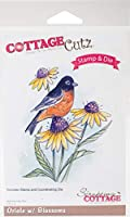 CottageCutz Stamp & Die Set-Oriole W/Blossoms 6.4cm x 7.6cm