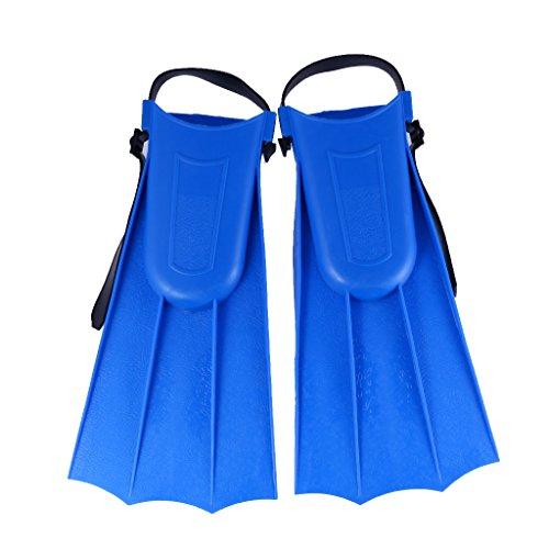 [해외] KOZEEY 어른 조절 가능족 지느러미 fin 다이빙 수영 학습 툴 - M 블루-