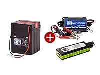 [セット品]バイクでスマホ充電3点セット(USBチャージャー、スーパーナット充電器12V、SB2.5L-C)