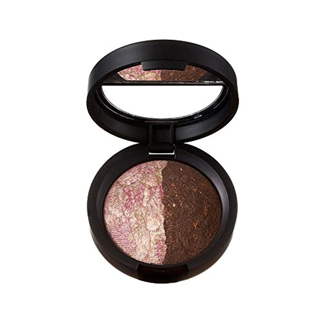 司令官農奴娘ローラ?ゲラー Baked Marble Shadow Duo - # Pink Icing/Devil's Food 1.8g/0.06oz並行輸入品