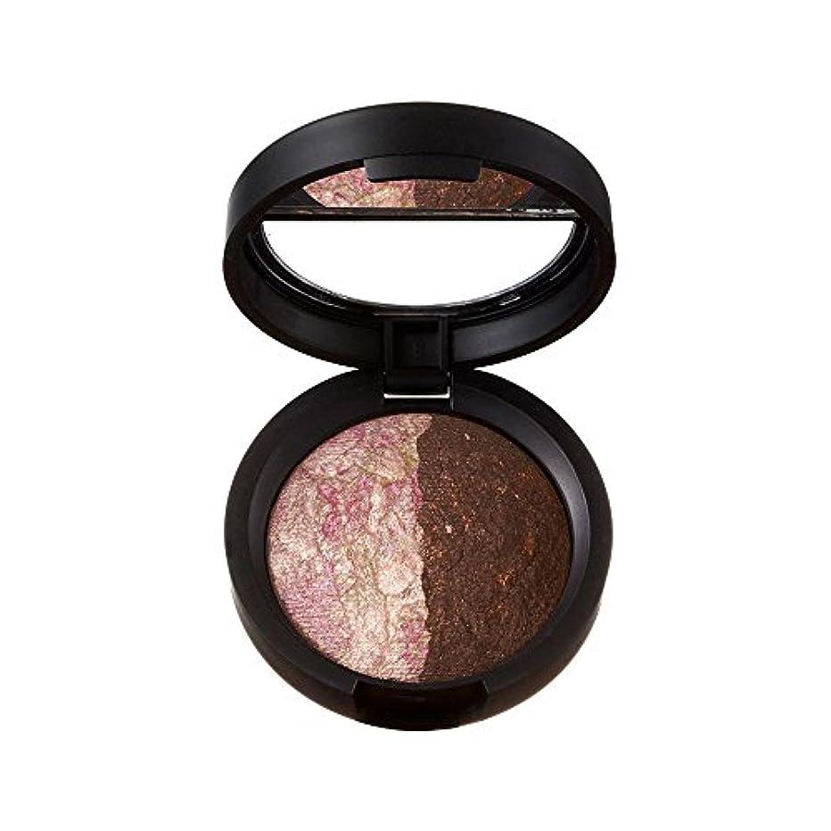 鉄道より平らなハッチローラ?ゲラー Baked Marble Shadow Duo - # Pink Icing/Devil's Food 1.8g/0.06oz並行輸入品