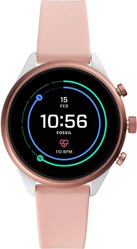 [フォッシル] 腕時計 FOSSIL スポーツスマートウォッチ FTW6022 レディース 正規輸入品 ピンク