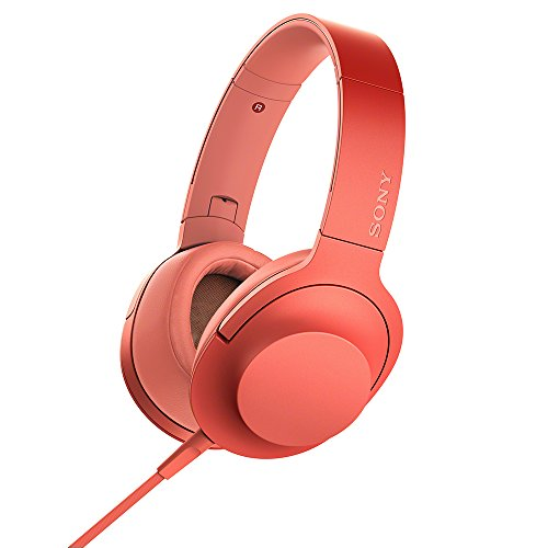 SONY ステレオヘッドホン h.ear on 2 MDR-H600A  R   トワイライトレッド
