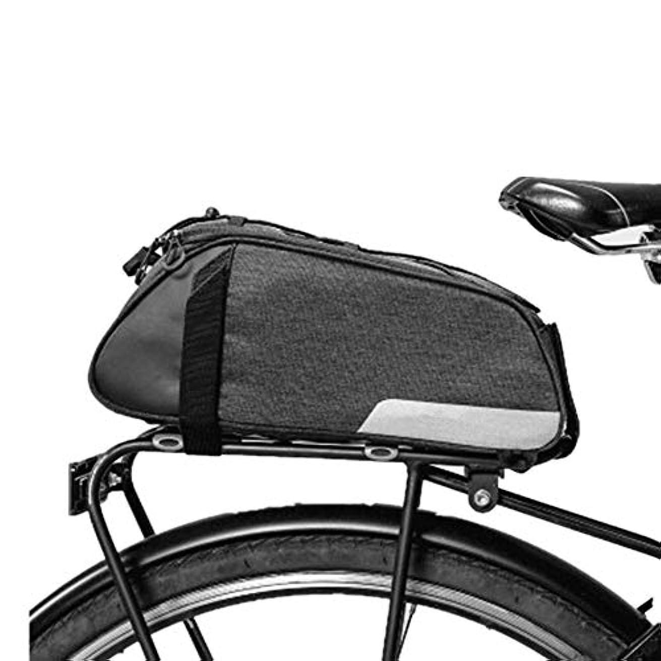 草ラバ提案する自転車パニエトランクバッグ、大容量防水自転車リアシートパニエフィット、防水カバー付き自転車走行用 坚しっかり大容量