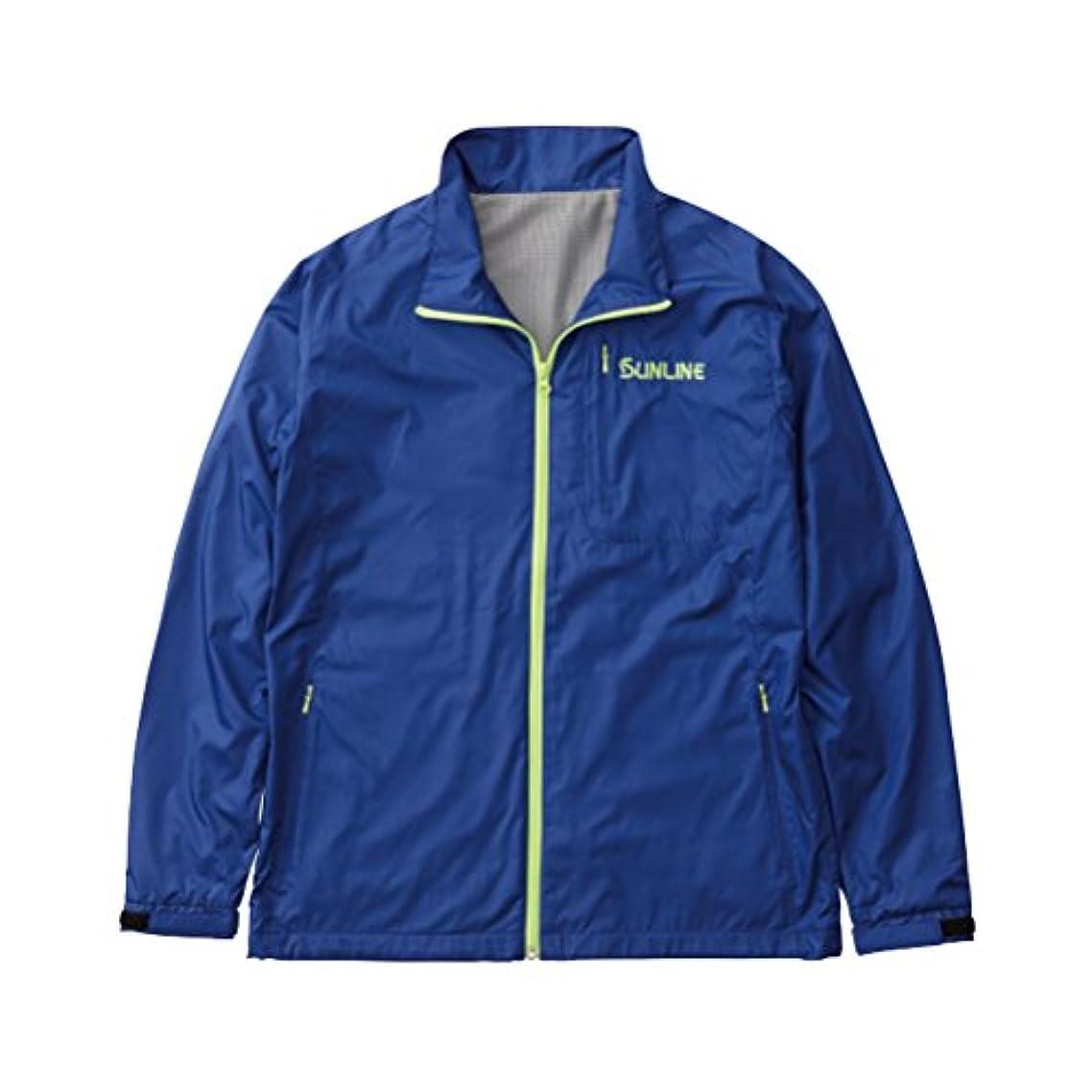 荒廃する起こりやすい旅客サンライン(SUNLINE) ジャケット ライトシェル L ブルー SCW-6113