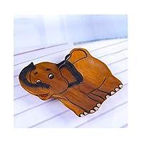 フルーツバスケット- フルーツバスケット木製漫画フルーツプレートかわいいフルーツ皿動物の形フルーツトレイドライフルーツCompor WPQW (色 : E)