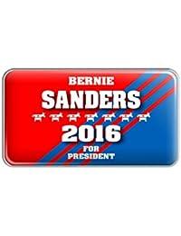 Bernie Sanders For President 2016 Democrat Donkey Metal Lapel Hat Pin Tie Tack Pinback