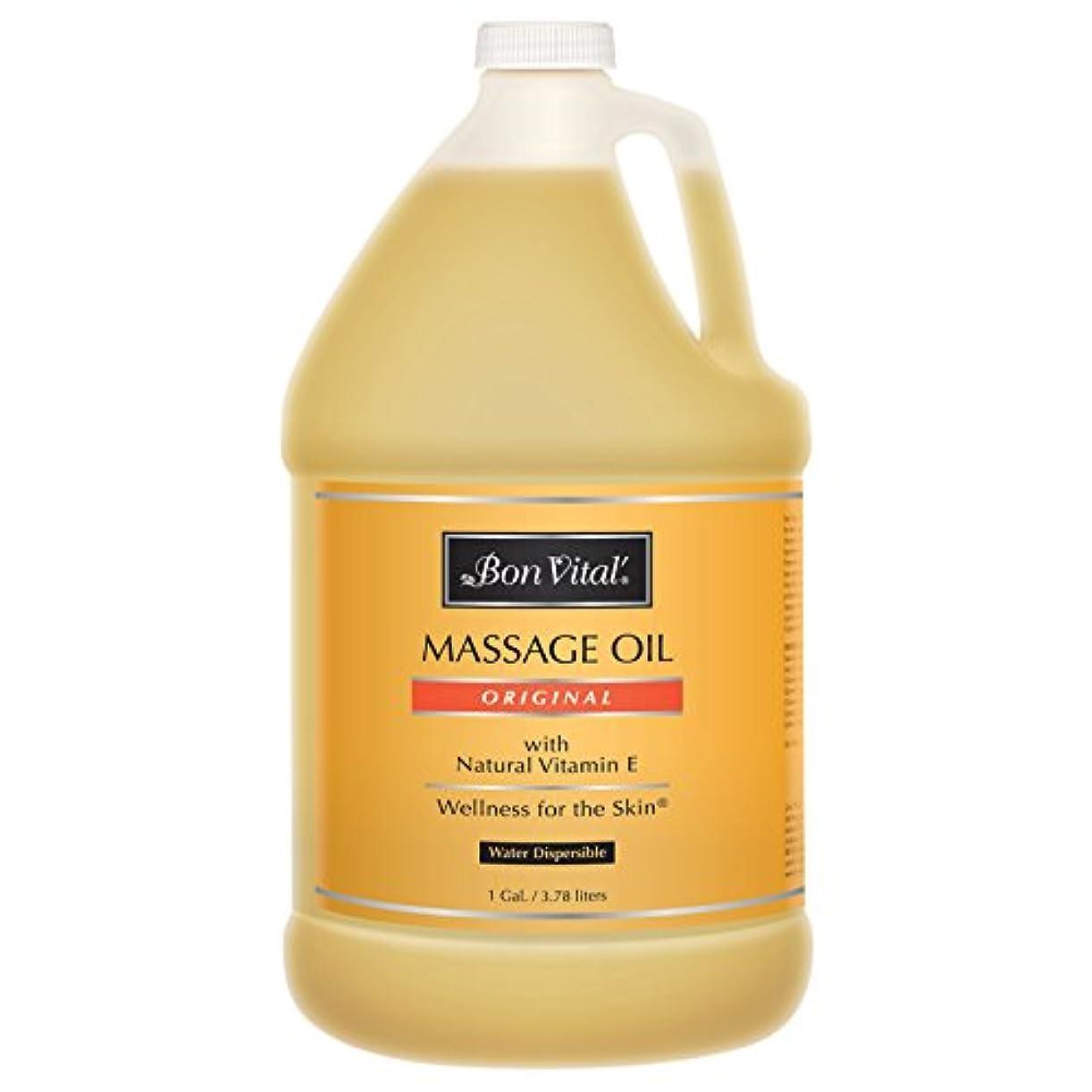 発生プット漁師Bon Vital, Original Massage Oil 1 Gal