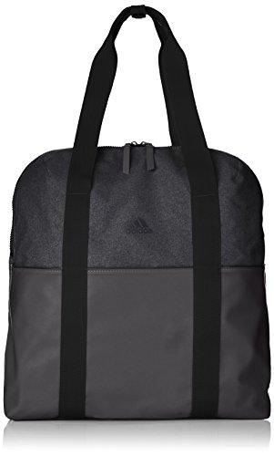 [アディダス]トートバッグ ウィメンズトレーニングID トートバッグ(DUR21) ブラック/ブラック/カーボン S18(現行モデル)