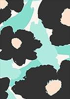 ポスター ウォールステッカー シール式ステッカー 飾り 364×515㎜ B3 写真 フォト 壁 インテリア おしゃれ 剥がせる wall sticker poster pb3wsxxxxx-011037-ds 花 フラワー 緑