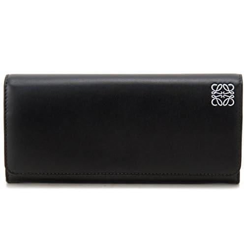 ロエベ LOEWE 長財布 109.54.F11 1100 CALF SKIN カーフスキン ブラック メンズ レディース (並行輸入品)