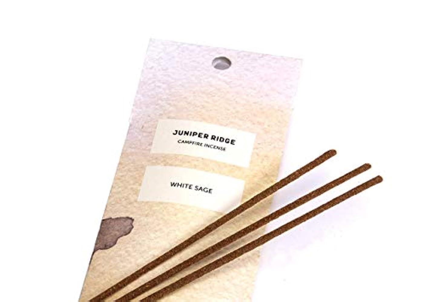 生き物どっち軽量Juniper Ridge White Sage Incense