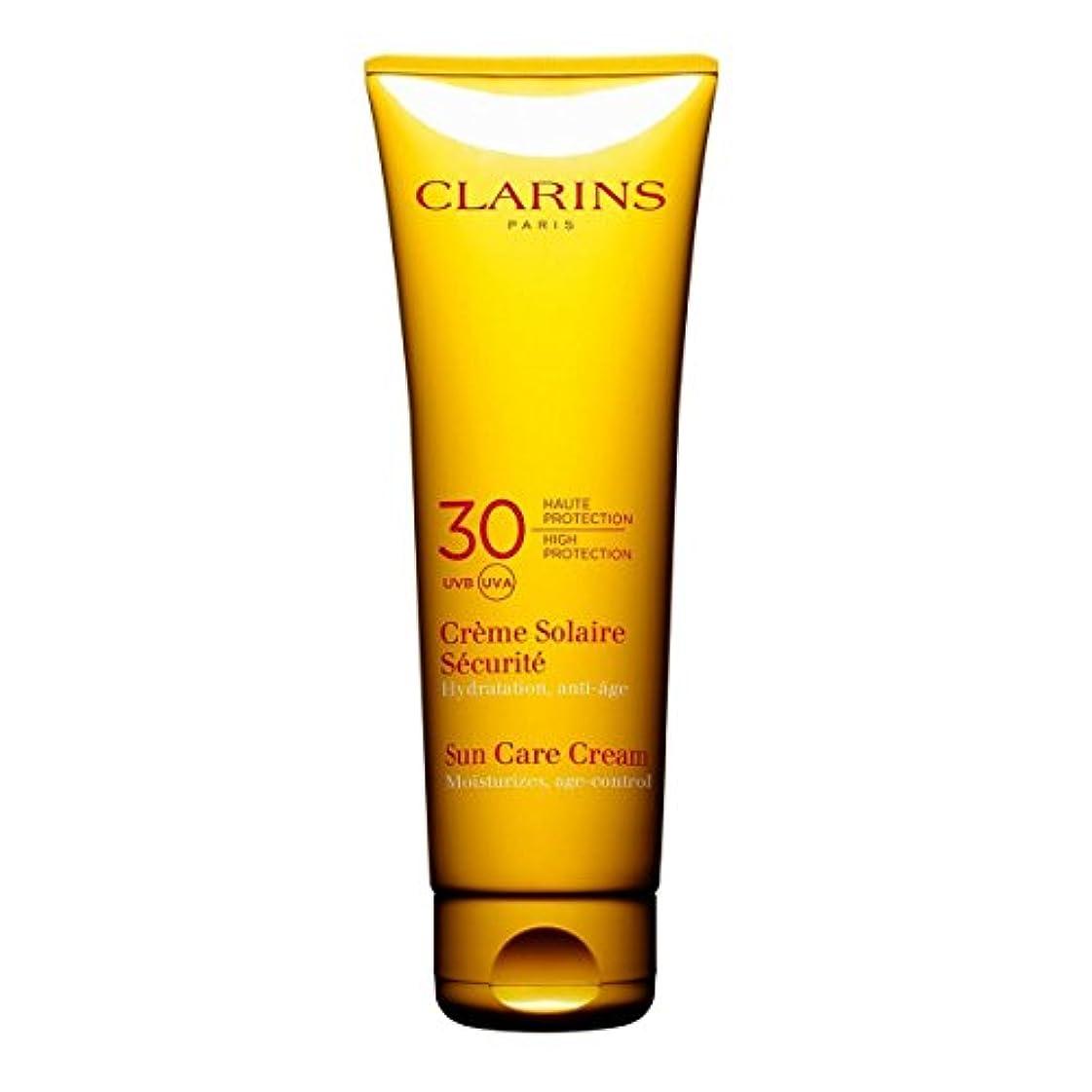 レザーつかむ司教Clarins Sun Cream High Protection Uvb-Uva 30 125ml [並行輸入品]