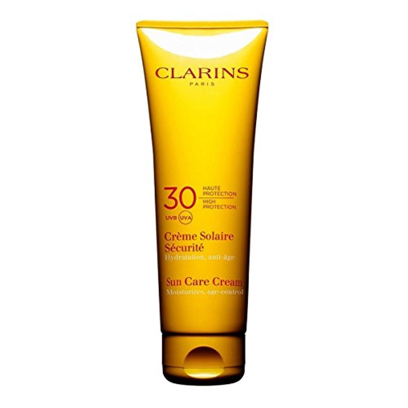 適格自分を引き上げる自伝Clarins Sun Cream High Protection Uvb-Uva 30 125ml [並行輸入品]