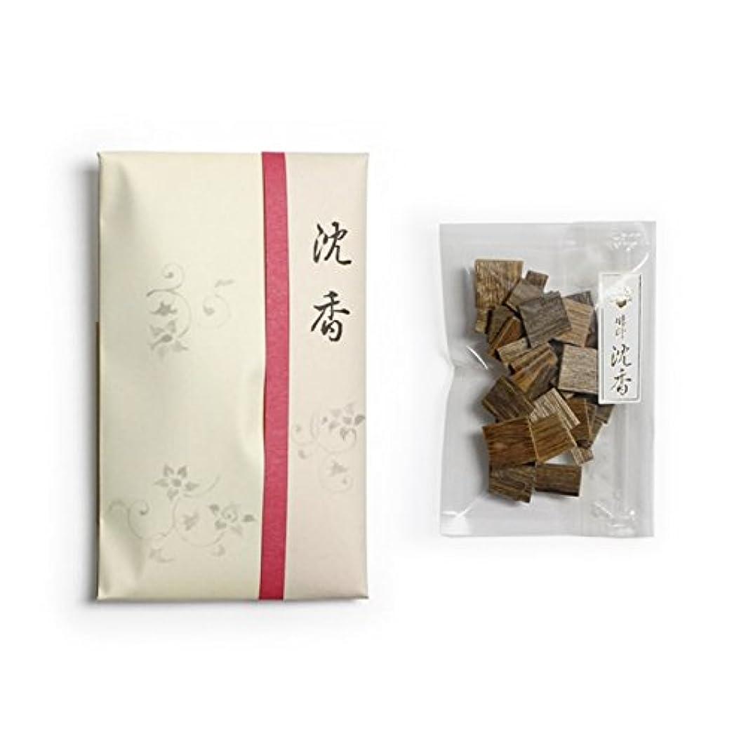 接続された多分安定しました香木 竹印 沈香 割(わり) 5g詰 松栄堂