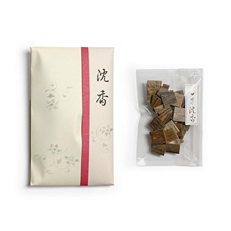 論理的に疫病博物館香木 竹印 沈香 割(わり) 5g詰 松栄堂