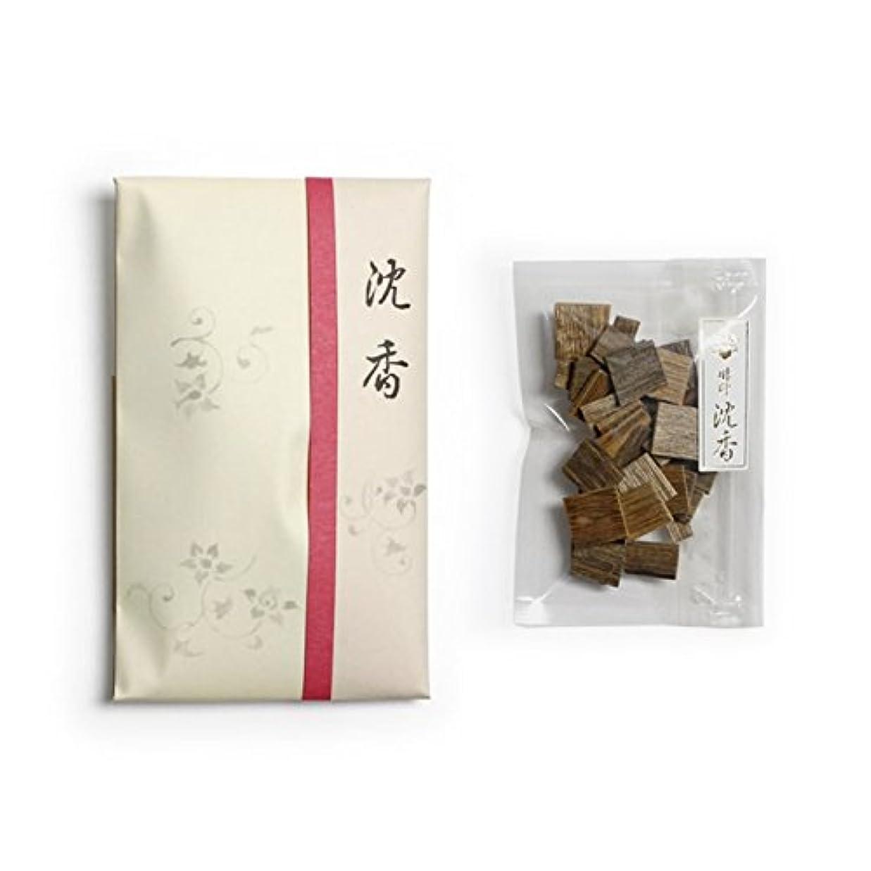 ケージトーストゴミ香木 竹印 沈香 割(わり) 5g詰 松栄堂