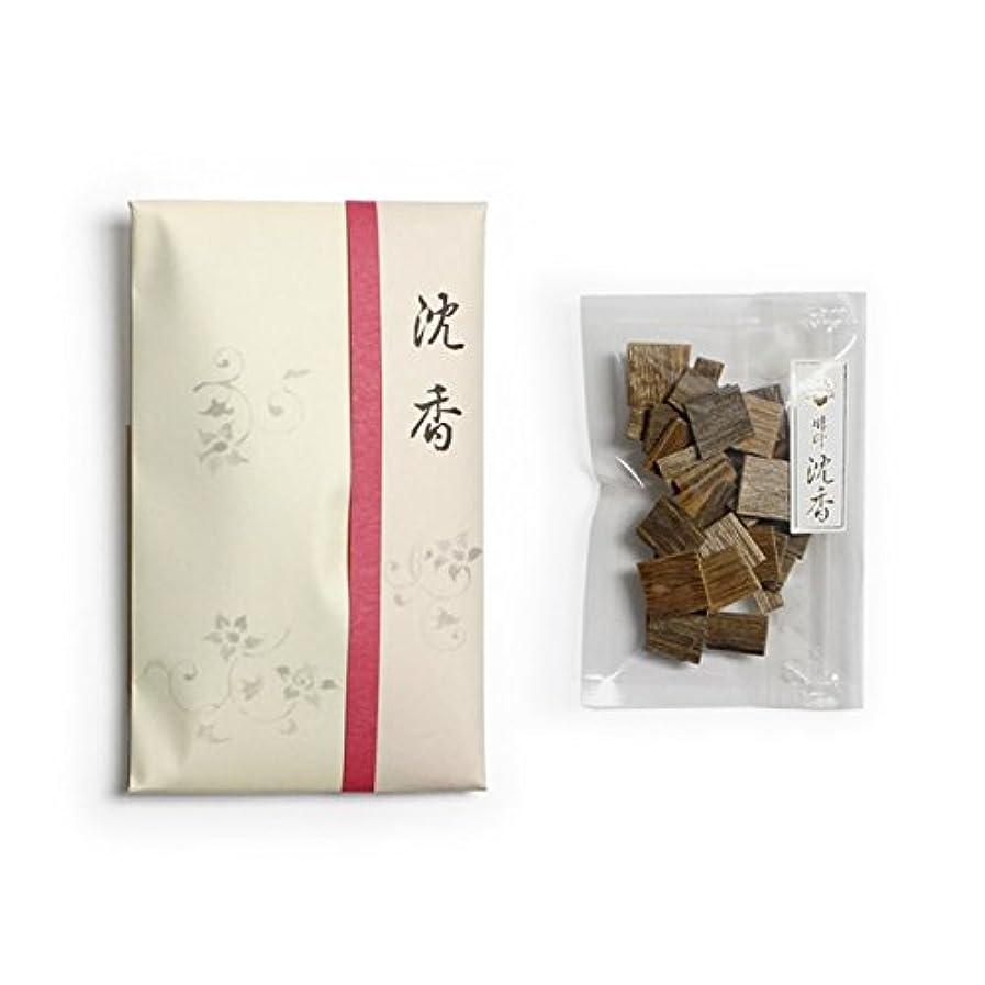 悔い改める廃棄科学的香木 竹印 沈香 割(わり) 5g詰 松栄堂