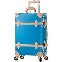 TABITORA(タビトラ) スーツケース レトロ キャリーバッグ 静音 超軽量 旅行 大容量 4輪 ダイヤルロック