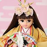 【雛人形】リカちゃんのひな人形 【久月 × タカラトミー】 プレミア 限定品 ひな人形 イエロー 人形のみ 【2009年度新入荷品】