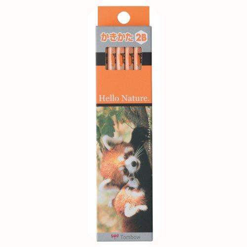 トンボ鉛筆 Hello Nature かきかた鉛筆 KB-KHNLP2B 1セット(12本)