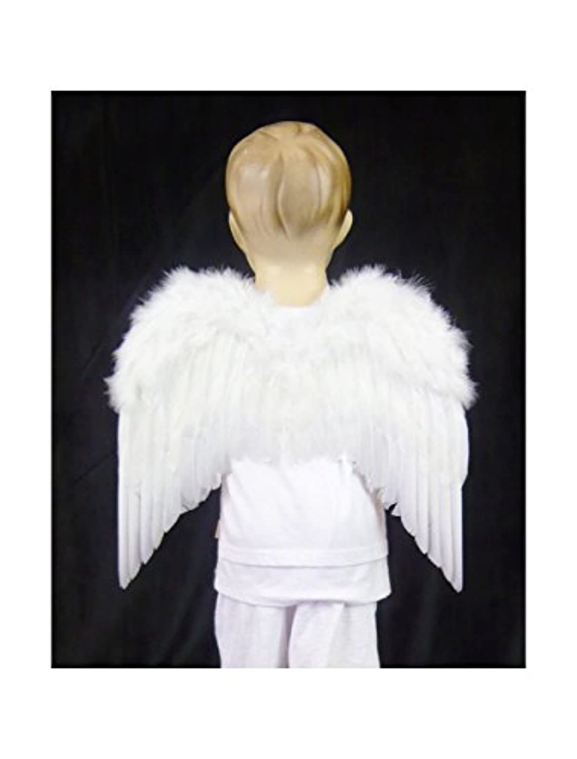 [ファッションウイング]FashionWings Children's Toddler Size White Feather Angel Wings & Headband Halo 101M2W [並行輸入品]
