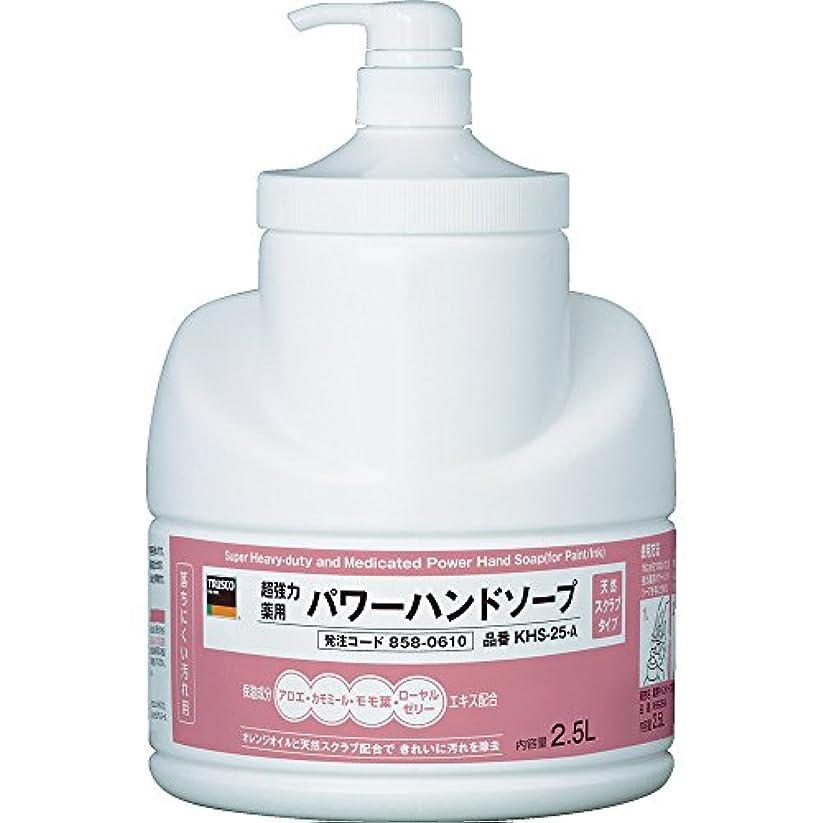 辛なのれん甘くするTRUSCO(トラスコ) 薬用超強力ハンドソープ 2.5L KHS-25-A
