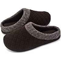 RockDove Mens Wool Fleece Slipper