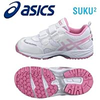 [ステート ストア] asics アシックス サイズ:20.5 カラー:ホワイト/ピンク すくすく TIARAMINI MG4 0119 お取り寄せ商品