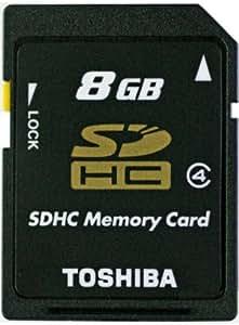 東芝 Toshiba SDHC 8GB 高速Class 4 10MB/秒 バルク品