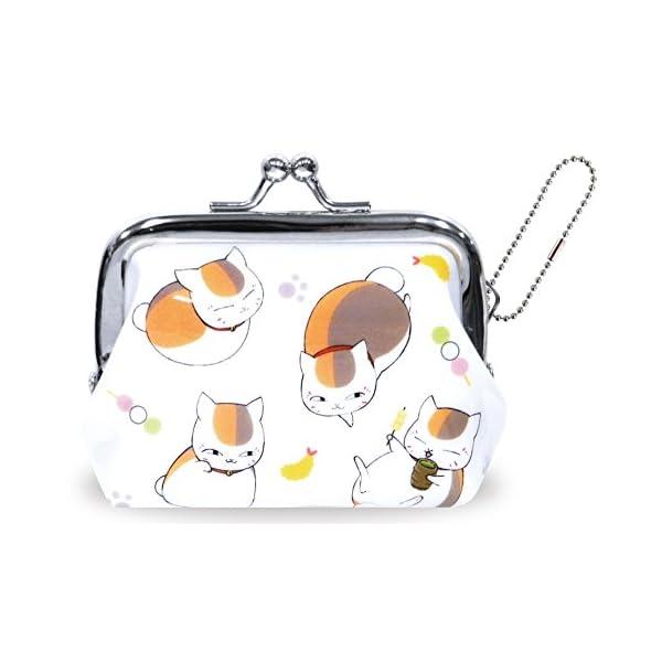 夏目友人帳 財布 がま口 総柄 RM-4477の商品画像