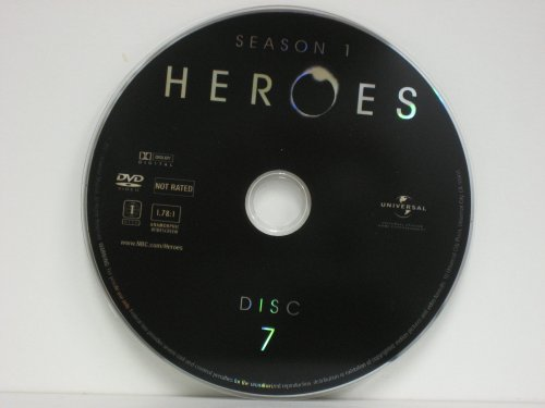 Heroes Season One DISC 7