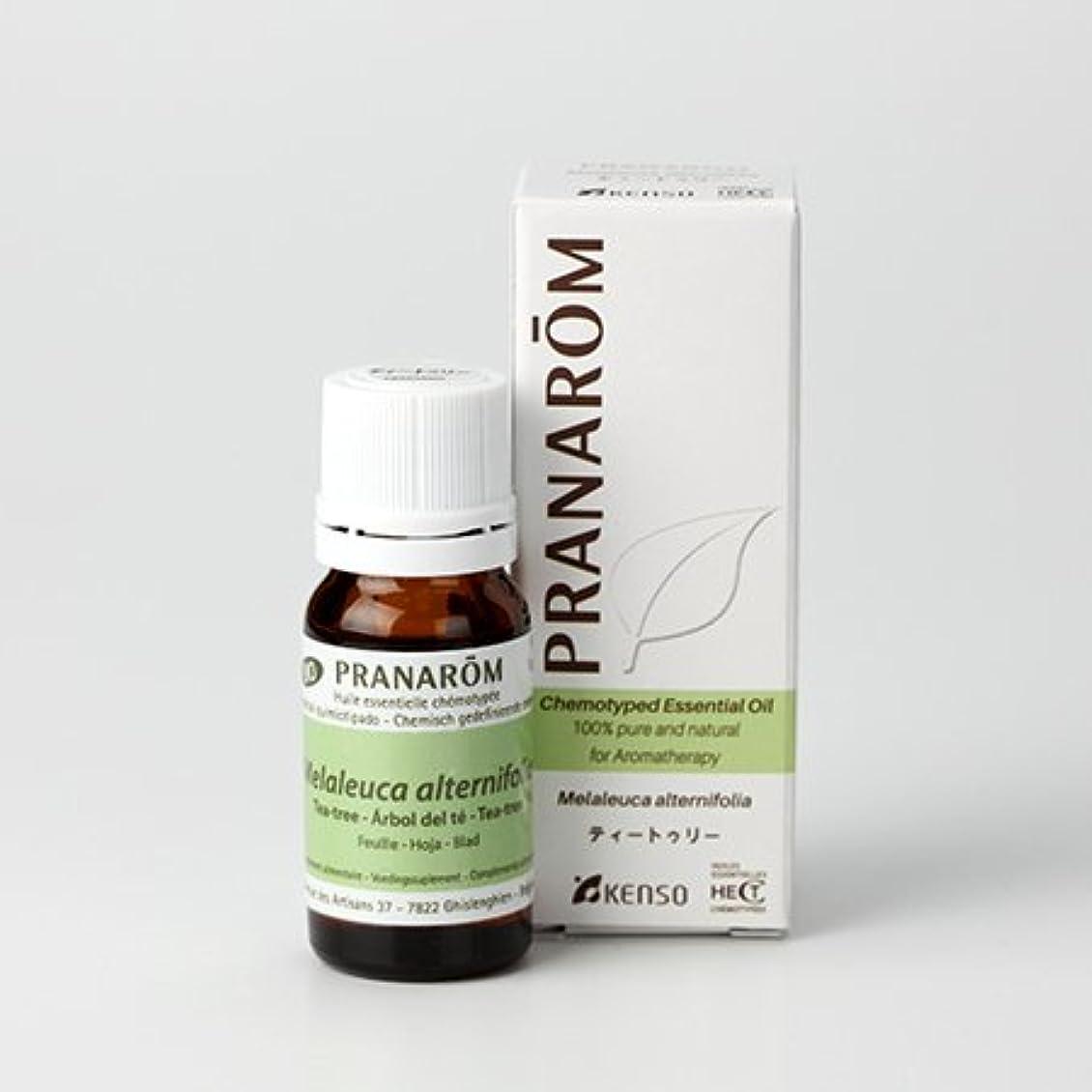 プラナロム精油(P-109 ティートゥリー?10ml)