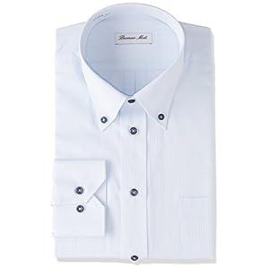 [アトリエサンロクゴ] 長袖 ワイシャツ イージーケア 形態安定 Yシャツ メンズ sun-ml-wd-1130 at103-b-1 日本 4L (日本サイズ4L相当)