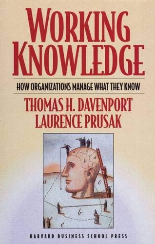 Download Working Knowledge: How Organizations Manage What They Know 1578513014